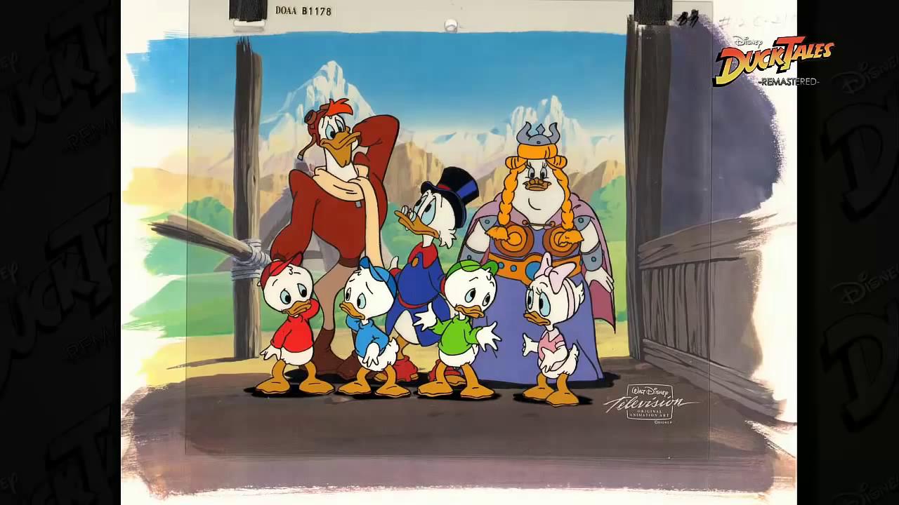 Animační list kačeří příběhy