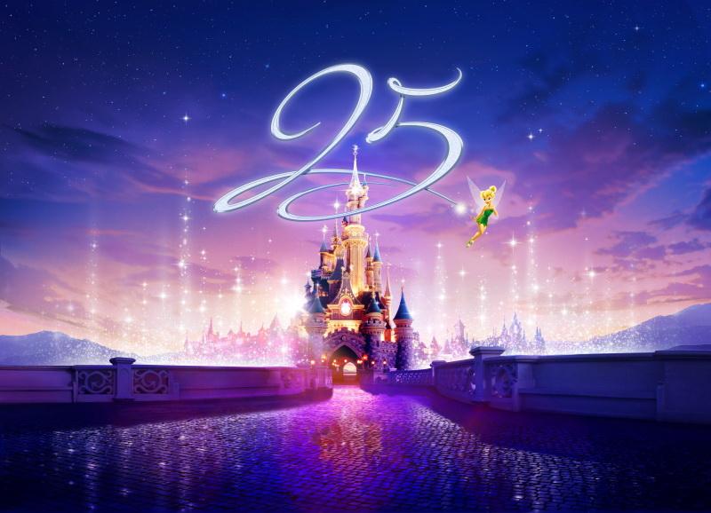 25 výročí Disneyland paris