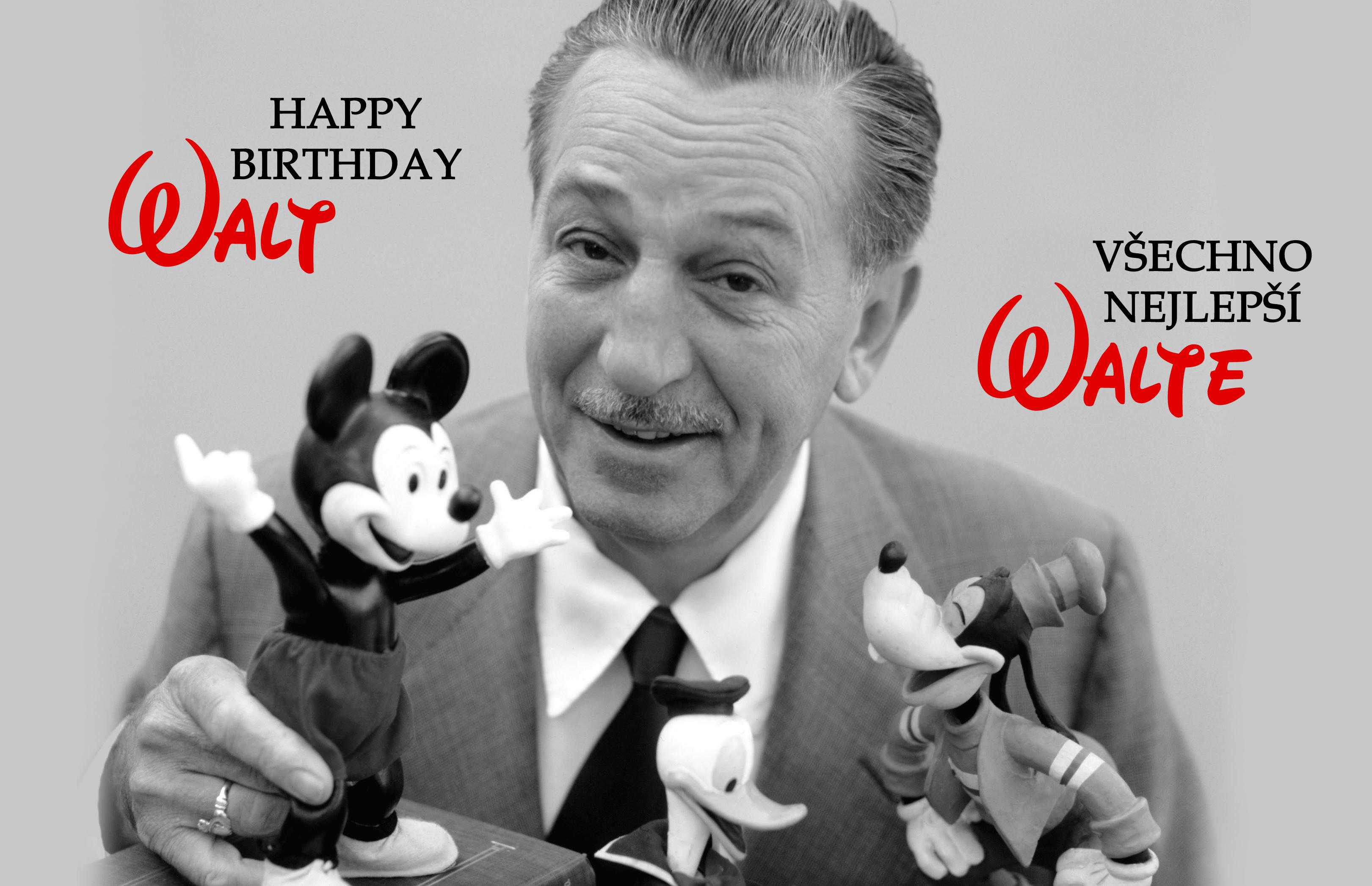 walt disney narozeniny 115
