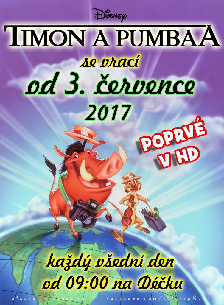 Timon a pumbaa 2017