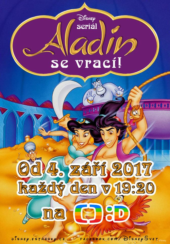 Aladinova dobrodružství se vrací v září 2017