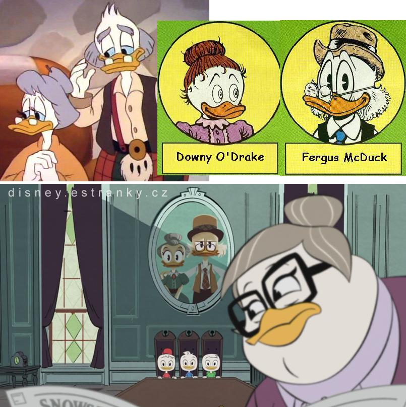 skrblíkovi rodiče v seriálu a komiksu